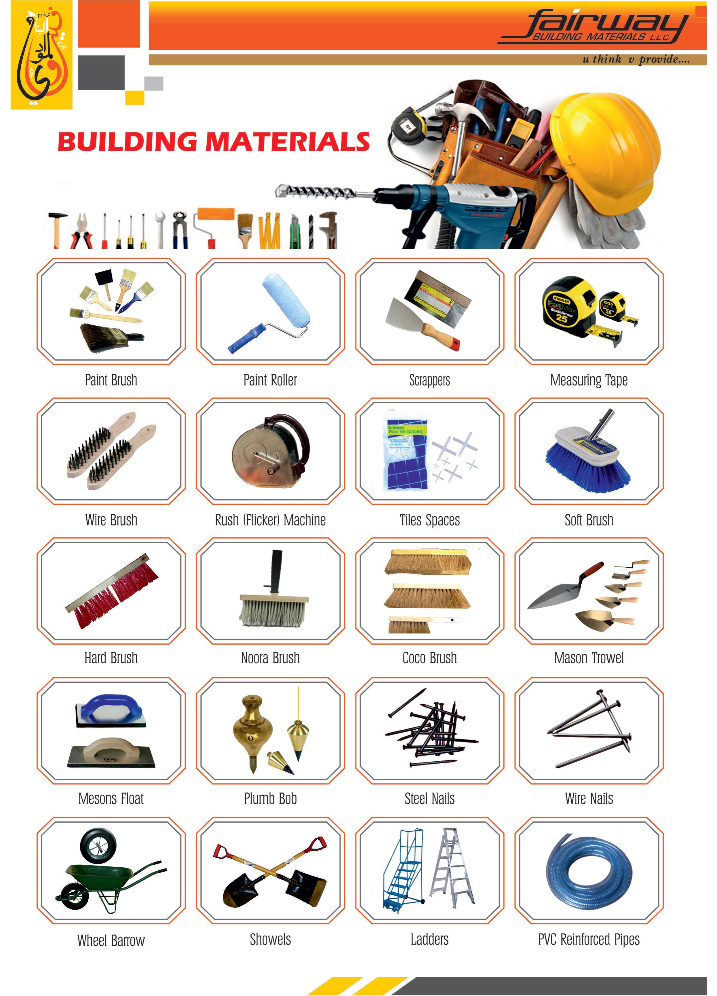 Building Materials Product : Building materials fairway